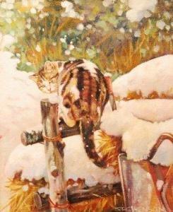 "Wendy Stevenson - ""in A Winter Garden"""