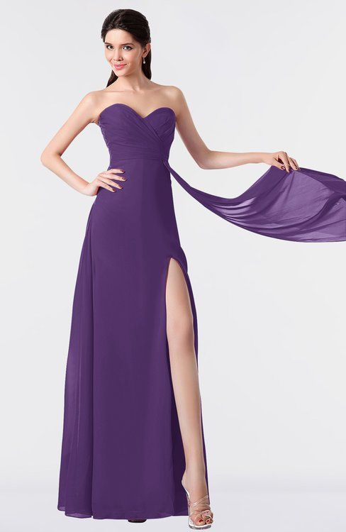 4a3c63be5f4e The Chiffon, A-line Bridesmaid Dresses, Prom Dresses, Evening Dresses,  Party Dresses ends with Floor Length hemline that ...