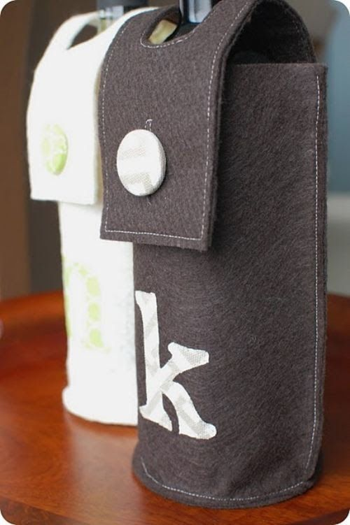 Wine Gift Wrapping Ideas Part - 47: Wine Gifting 3 Wine Gifting Done Right (24 Photos). Wine GiftsWrapping ...