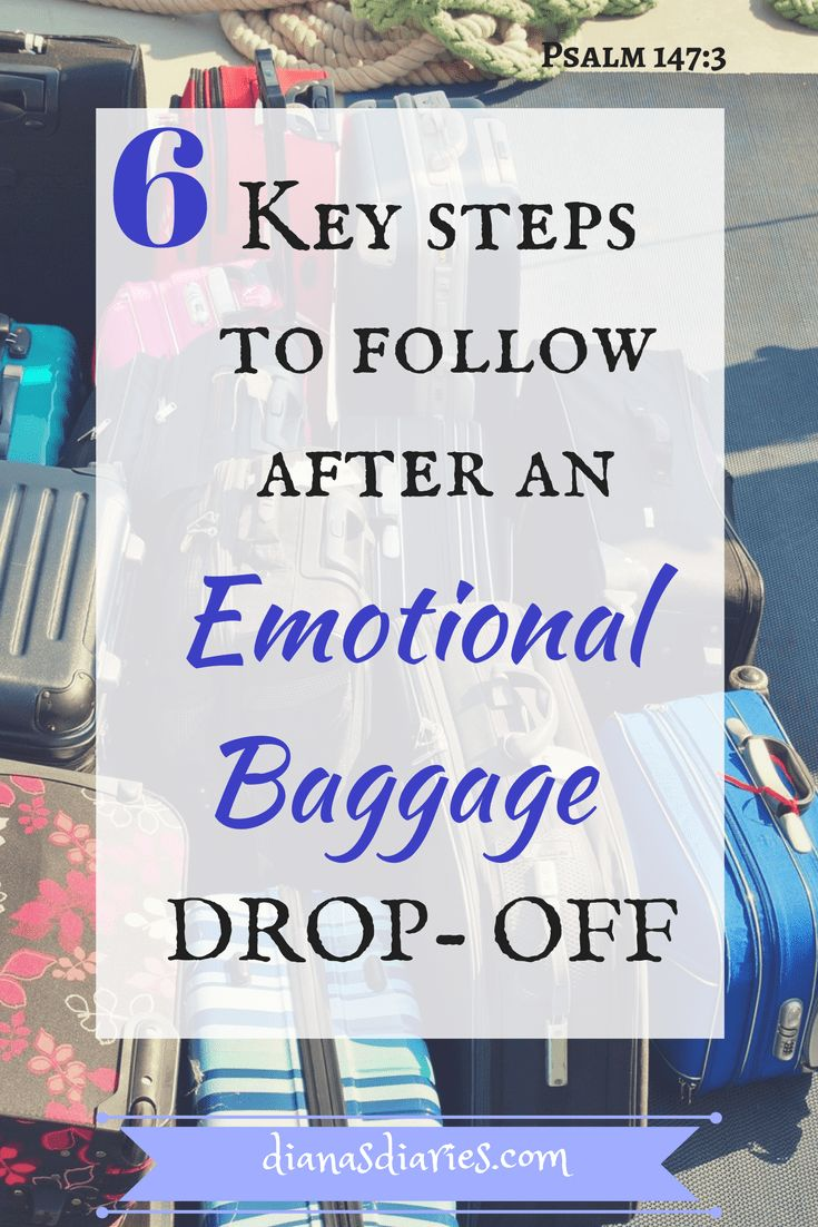 Where do these emotional baggage stem from? These could be baggage you are carrying from a broken home where you experienced abandonment, or you witnessed your parents fighting every single day, you were teased/bullied for your appearance, you got molested by people in your family or neighborhood.