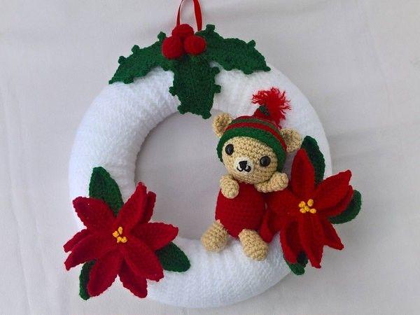 106 Best Ajtdiszek Images On Pinterest Crochet Wreath Amigurumi