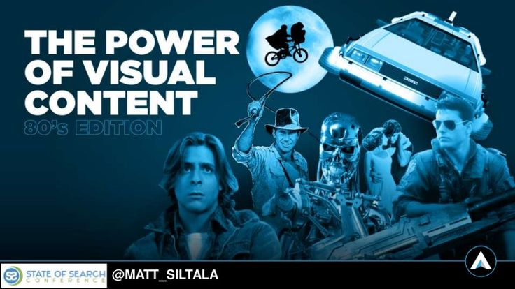 The power of #VisualContent and Creative content presentation at State of Search. Learn about the different types of visual content, such as infographics, motion graphics, interactive graphics, videos, sales sheets, power points etc. Many case studies on social media and links, social mentions and how it helps branding are shared. http://www.slideshare.net/MattSiltala/the-power-of-visual-content-state-of-search