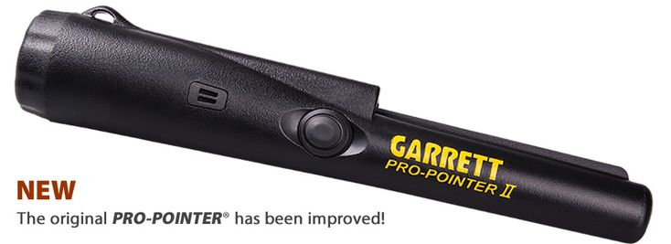 With a new lost pinpointer alarm, increased durability and sensitivity, Garrett's new Pro-Pointer II has everything you've come to trust from the original… and more!PRO-POINTER II KEY FEATURESLost Pinpointer AlarmAfter 5 minutes of being ON without a button press, the Pro-Pointer II will begin emitting progressively faster warning chirps for 60 minutes.Auto-Off FeatureAfter one hour of warning chirps, the Pro-Pointer II will power off automatically.Lanyard Attachment ClipUse to attach the…