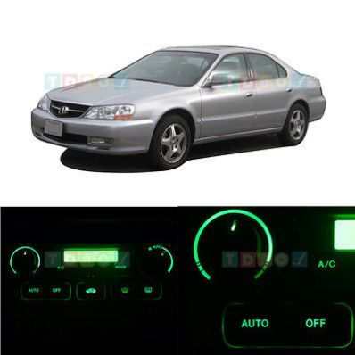 nice LED Kit AUTO AC Climate Heat Controls Green Lights Bulbs for 1999-2003 Acura TL - For Sale View more at http://shipperscentral.com/wp/product/led-kit-auto-ac-climate-heat-controls-green-lights-bulbs-for-1999-2003-acura-tl-for-sale/