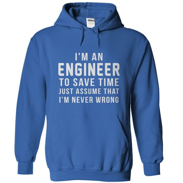 Are you an Engineer? Show everyone your love for Engineer humor, with this great shirt.
