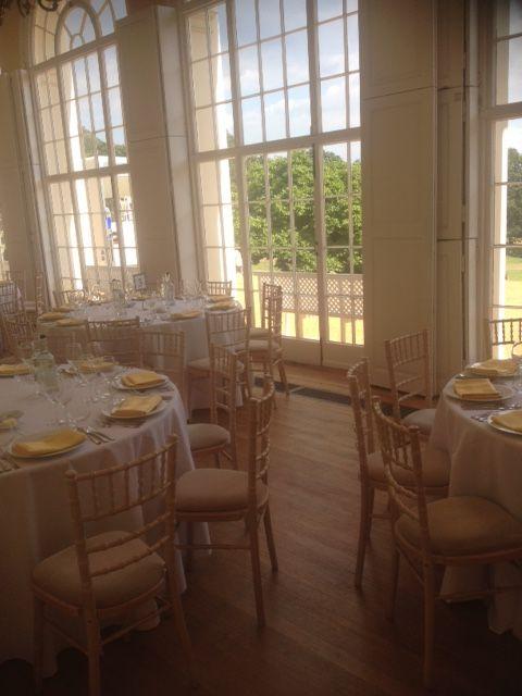 Wedding Reception Dinner In The Orangery At Kenwood House Hampstead Heath London