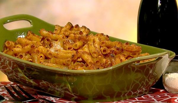 the chew   Recipe    Mario Batali's Pasticcio Di Maccheroni    Under $2 a serving!