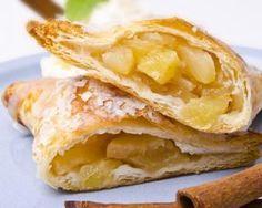 Chaussons légers aux pommes, poires et cannelle : http://www.fourchette-et-bikini.fr/recettes/recettes-minceur/chaussons-legers-aux-pommes-poires-et-cannelle.html