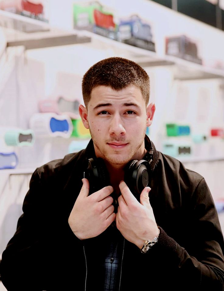 """"""" styleandsociety: Nick Jonas celebrates exclusive collaboration with Altec Lansing at CES 2017. In celebration of Altec Lansing's first celebrity partnership, the brand hosted an exclusive party during CES 2017 at Marquee Nightclub's Boom Box..."""