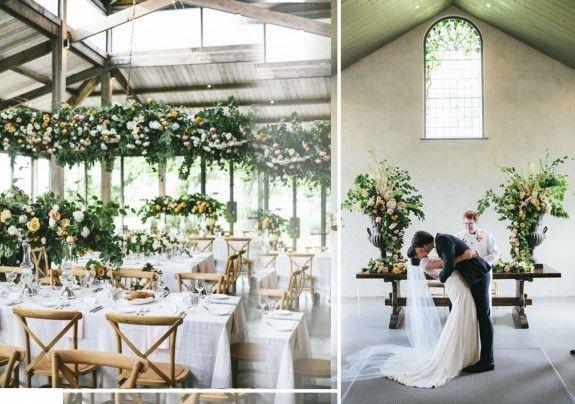 Decoración de boda. Flores de boda. Novios. Collage realizado por Noskasamos. Imagen de su Blog. Inspiración deco.