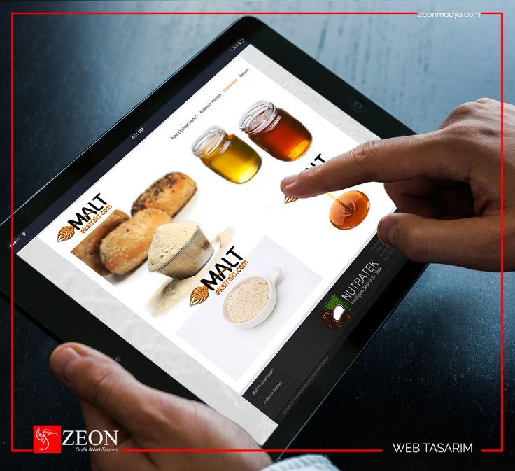 Zeon Medya | Maltekstrakt Web Tasarım