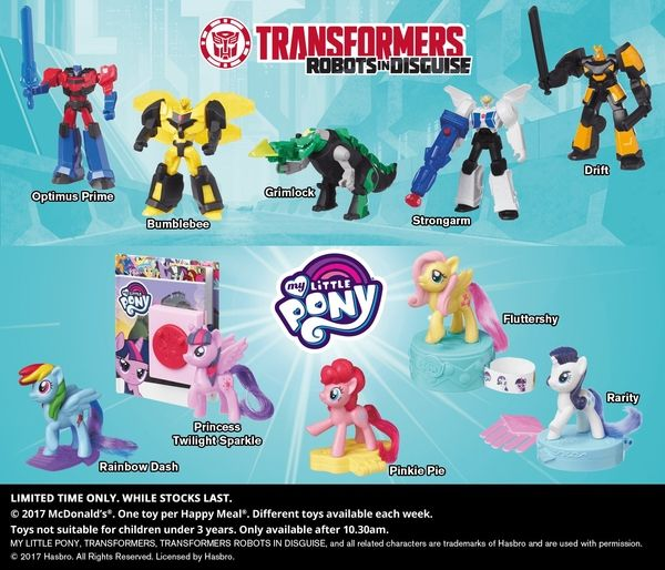 New Robots In Disguise Happy Meal Toys Hit McDonald's Australia