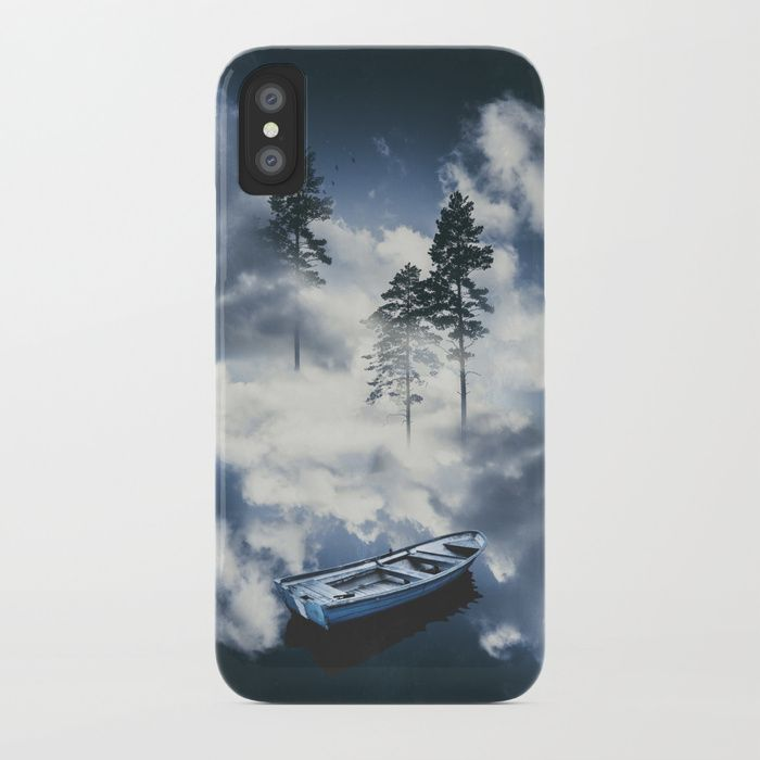 Forest sailing iPhone Case by HappyMelvin. #art #nature #photography #surreal #phonecases #iphone