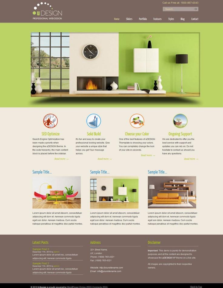 18 best Elite Wordpress Themes images on Pinterest | Website designs ...