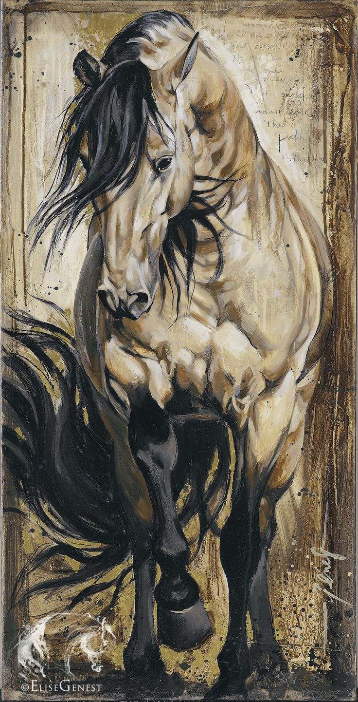 peinture chevaux wallpaper - photo #25