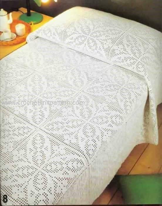 Free Crochet Pattern Queen Size Blanket : Best 25+ Crochet bedspread ideas on Pinterest Crochet ...