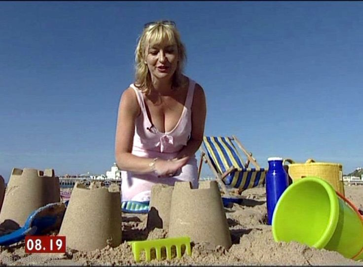 Carol kirkwood on the beach looking amazing news for The kirkwood