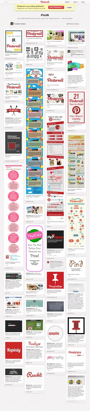 Look at Pin4Ever, shown in this pin! Link goes to the board, which has useful Pinterest tools, services, apps, tricks, details and more -- including the Pin4Ever backup service, to protect your pins.