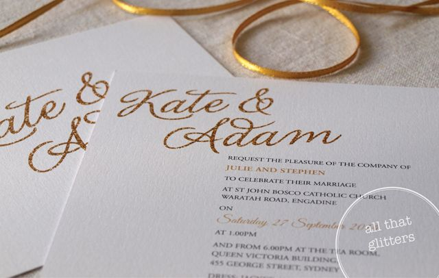 Alannah Rose | Wedding Invitations + Stationery - All That Glitters