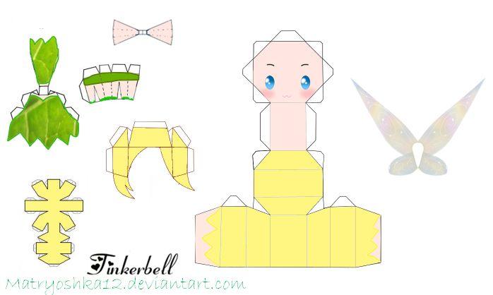 Tinkerbell Papercraft ...