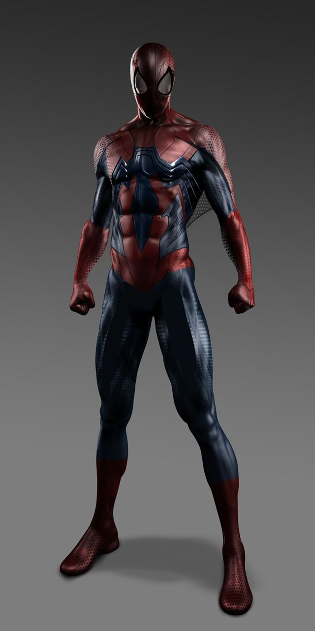 Bold Alternate Costume Designs For THE AMAZING SPIDER-MAN (2012)