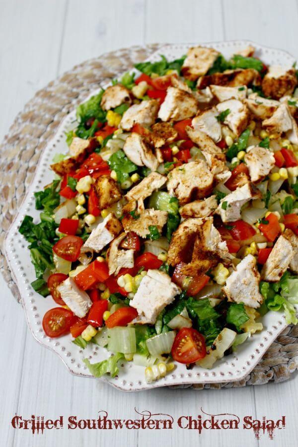 Best 25+ Southwestern chicken salads ideas on Pinterest ...