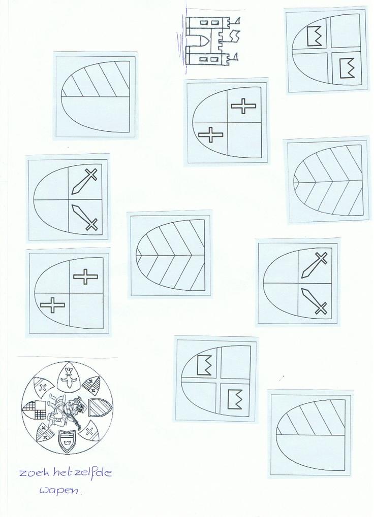 voorbeelden van verschillende soorten wapen. klik en print