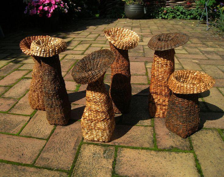 Krukkede vaser. Dorthe Steffensen
