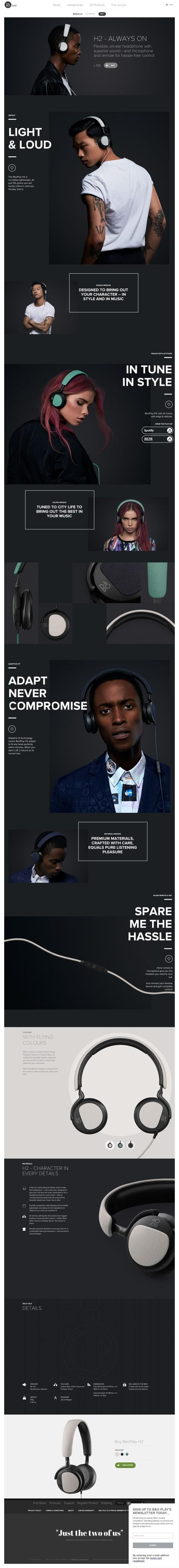 http://www.beoplay.com/products/beoplayh2#at-a-glance