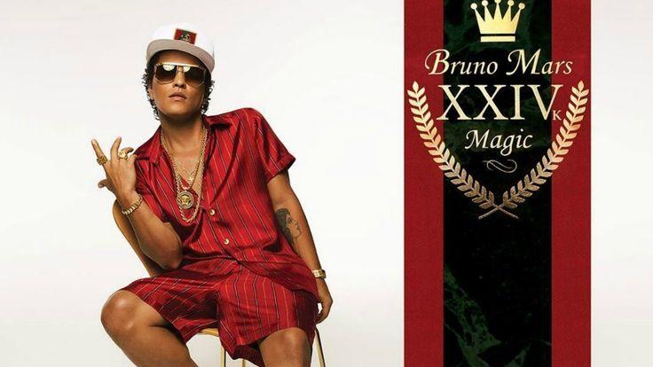 Bruno Mars - 24 K Magic (Lyrics)