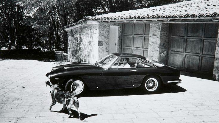 Steve McQueen/Ferrari 250 lusso/Sunshine. 'nuff said.