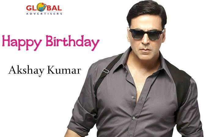 """Wishing a very happy birthday to original Khiladi of the film industry Akshay Kumar Sir.! """"Stay blessed"""".  #HappyBirthdayAkshayKumar"""