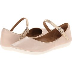 Clarks Feature Film mary janes in Blush