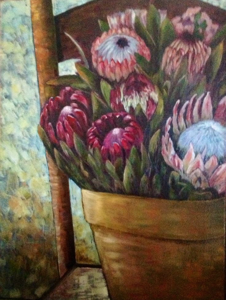 Proteas by Ronell