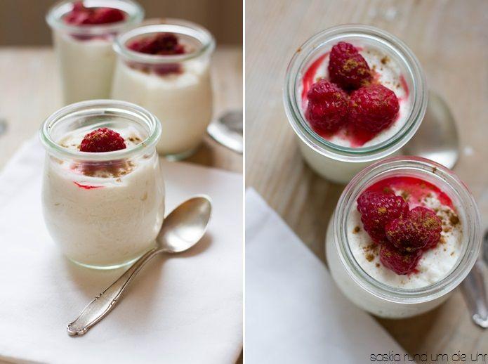 SaskiarundumdieUhr: Joghurtcreme mit Zimt + Give Away