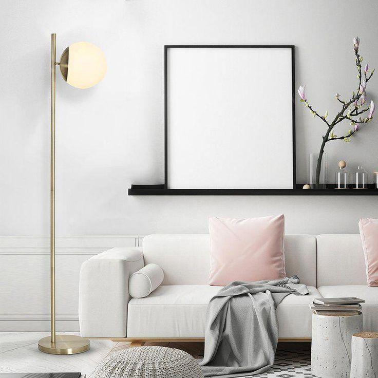 Chapple 65 led floor lamp freeinteriordesign current - Elegant floor lamps for living room ...