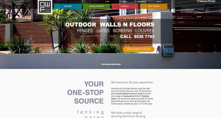 Wix Professional Web Design Garden fences and gates