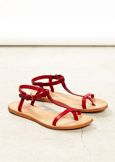 Red Sandals On Sale