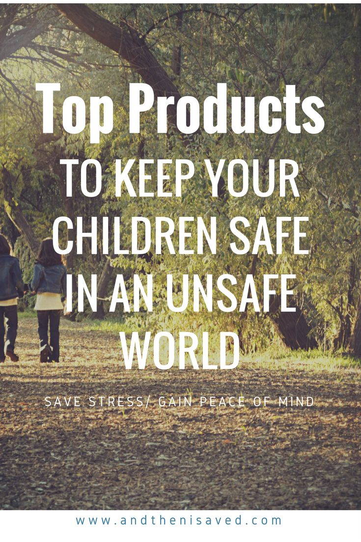Top Products to keep your children safe in an unsafe world. Check these handy products out. In today's world you can never be too careful with your family's safety. A little preparation can go a long way.