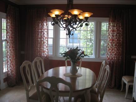 49 best dining room window treatments images on pinterest | dining