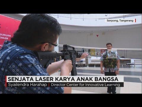 Senjata Laser Karya Anak Bangsa