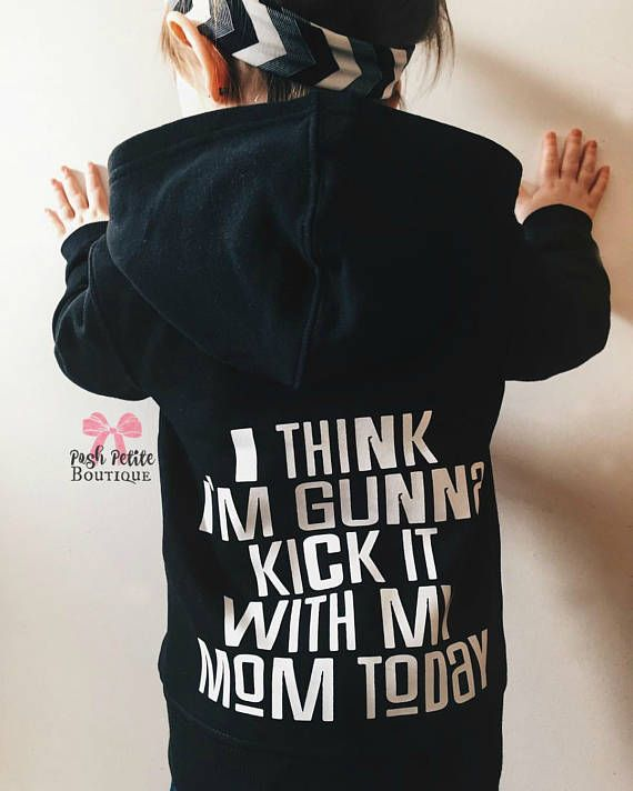 For your little stylish shadows! These hoodies can be done with different font styles or colours! Just send a pm to discuss.