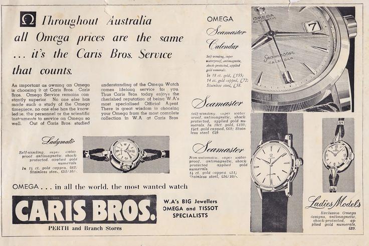 Caris Bros Perth 1960