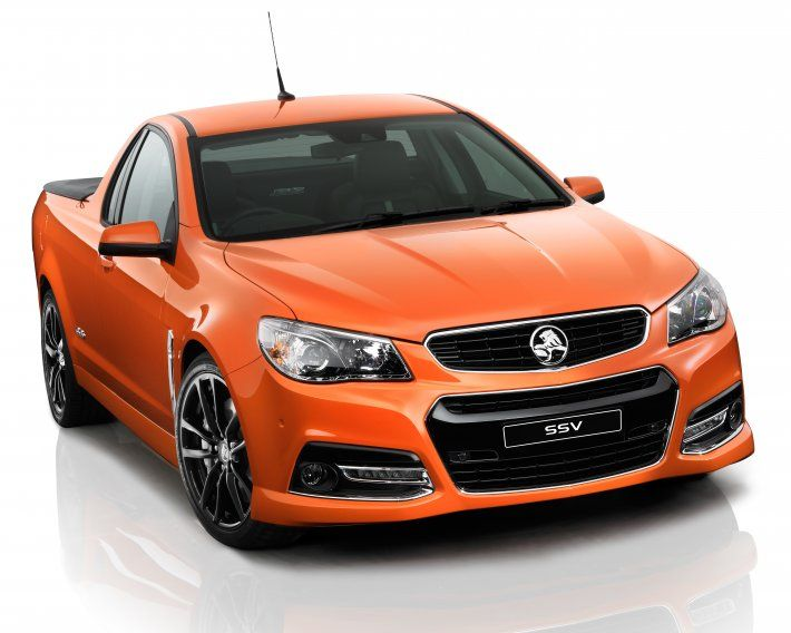 The idea of a pickup truck with the body of a sedan is an odd concept, but the Chevy El Camino and Ford Ranchero were cult classics until they were discontinued in the 1970s and '80s. But the Aussies have kept the dream alive with the imposing Holden HSV Maloo Ute.