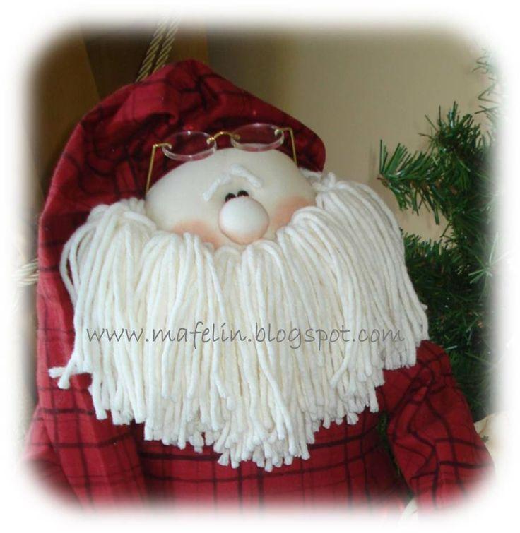 SleepyTime Santa. Hand made by me. Design by Sparkles N Spirit.