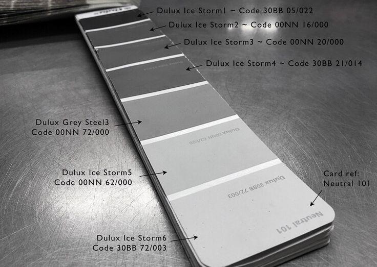 Shades of grey | Dulux paint | Pinterest | Dulux paint