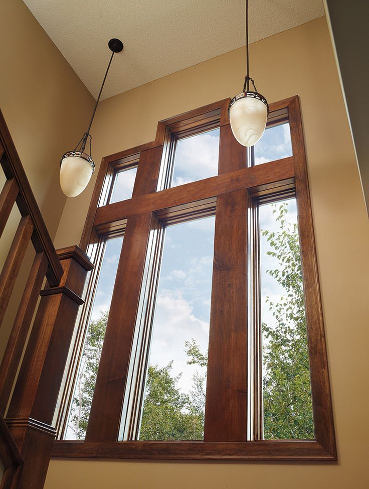 Floor To Ceiling Wood Ultrex Casement Windows