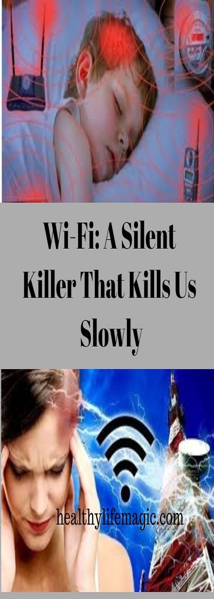 Wi-Fi: A Silent Killer That Kills Us Slowly | Healthy Life Magic