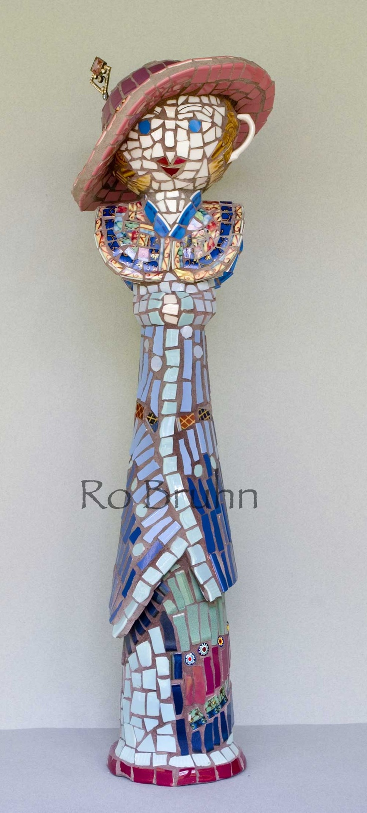 Ro Bruhn - another one of my mosaic ladies