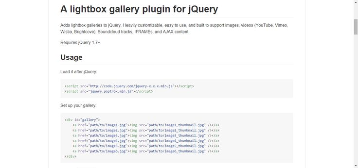 A lightbox gallery plugin for jQuery JQuery, CSS, HTML - draftsman resume